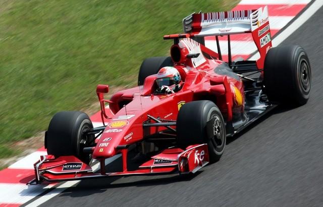 Giancarlo Fisichella Ferrari 2009