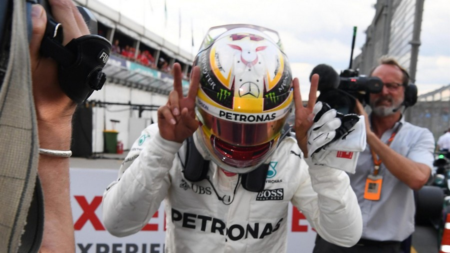 F1 Melbourne 2017 qualifications: Hamilton poursuit sur sa lancée
