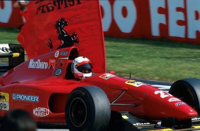 Nicola Larini Ferrari 1994 640