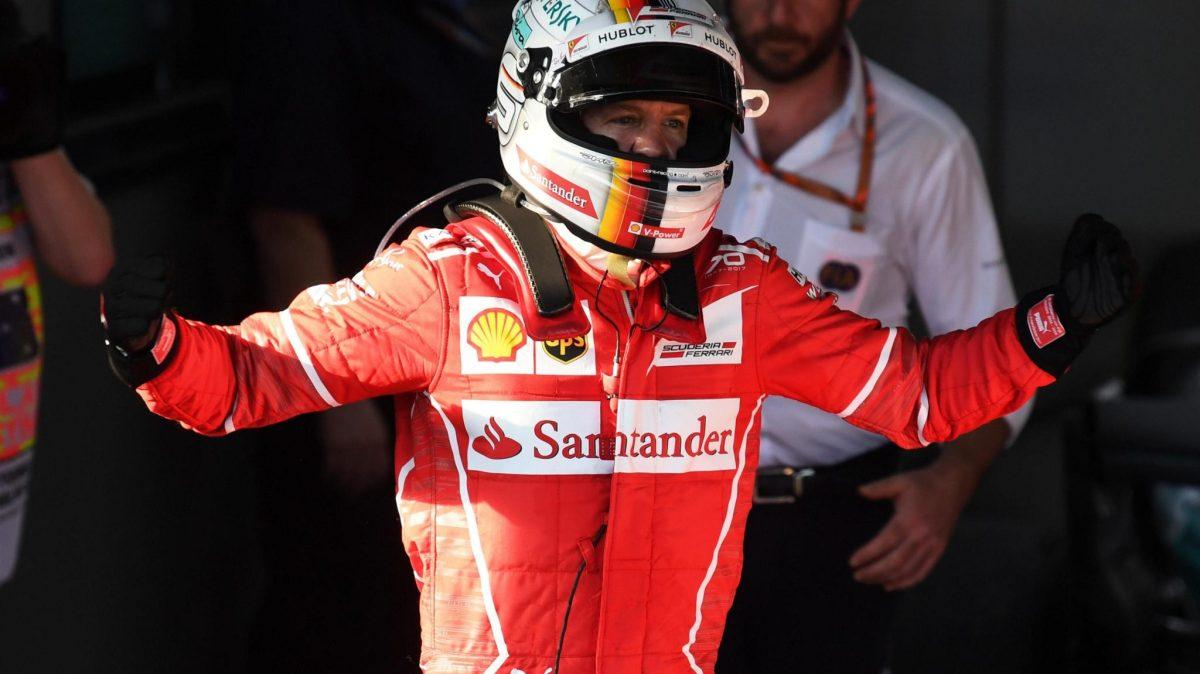 F1 Melbourne 2017: Vettel fait cabrer soncheval