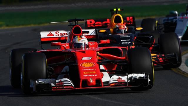 Sebastian Vettel Melbourne 2017