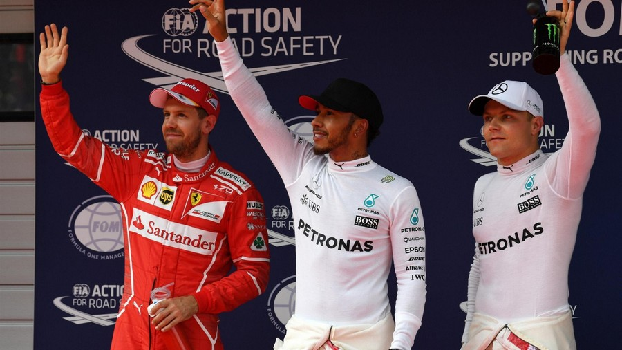 F1 Shanghaï 2017 qualifications: Nouvelle pole pour Hamilton