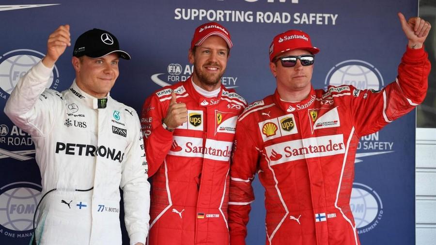F1 Sotchi 2017 qualifications: Première ligne 100%Ferrari